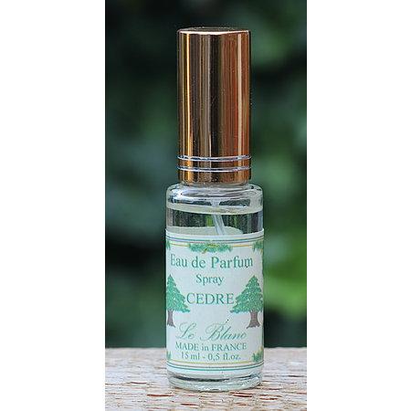 Miniflesje eau de parfum cederhout