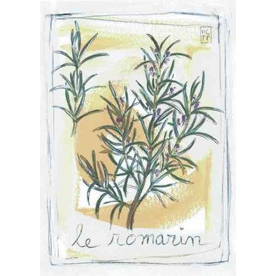 Print rozemarijn