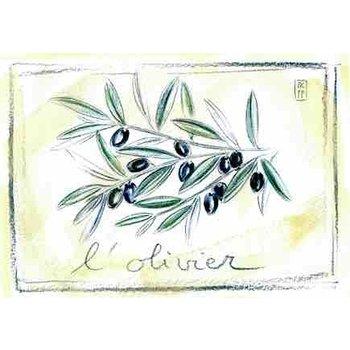 Lumière de Provence Print olijven