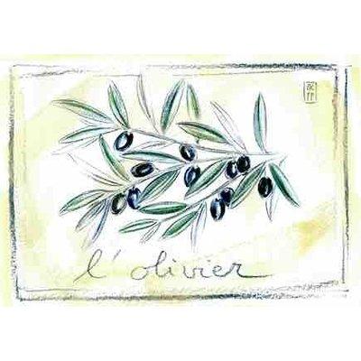Print olijven