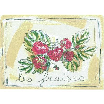 Print aardbeien