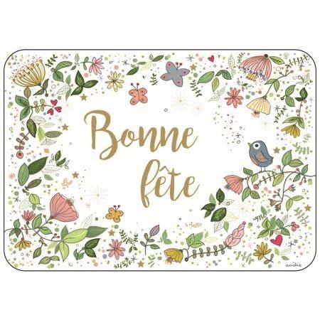 Franse wenskaart feest