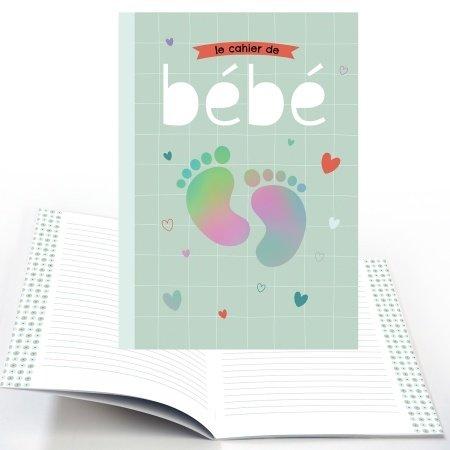 Schrift met  babyvoetjes