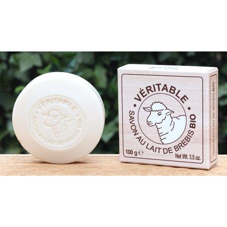 Doosje zeep met bio schapenmelk