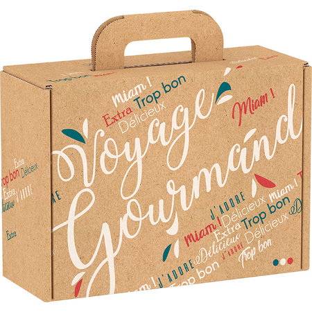 Koffertje met Franse delicatessen