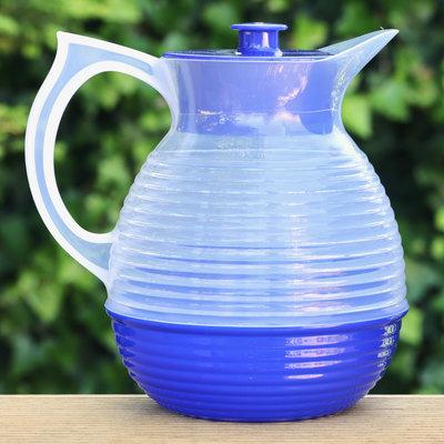 Retro karaf blauw
