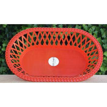 La Carafe Retro mandje rood