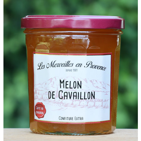 Franse confiture met meloen