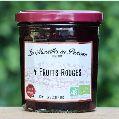 Confiture rood fruit