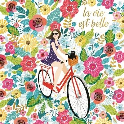 Ansichtkaart Belle vie
