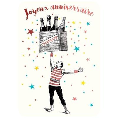 Franse felicitatiekaart