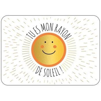 Cartes d'Art Paris Ansichtkaart zonnetje