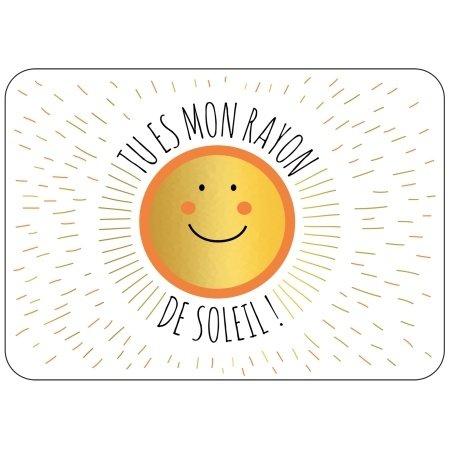 Ansichtkaart zonnetje