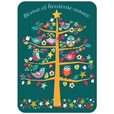 Franse nieuwjaarskaart