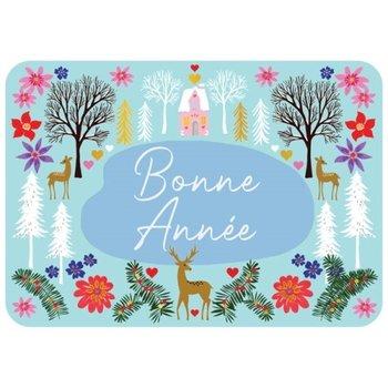 Cartes d'Art Paris Franse nieuwjaarskaart