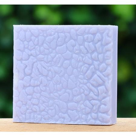 Doosje zeep met geitenmelk lavendel