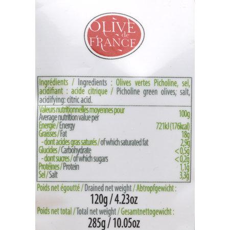 Goene  picholine olijven uit de Provence