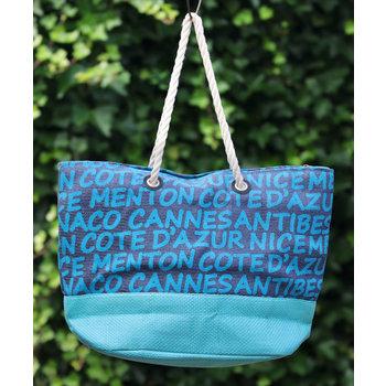 Lumière de Provence Strandtas turquoise
