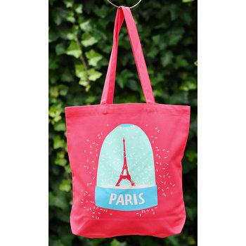 Les Parisiettes Tas Eiffeltoren rood