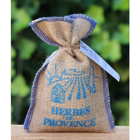 Herbes de Provence in jute zak