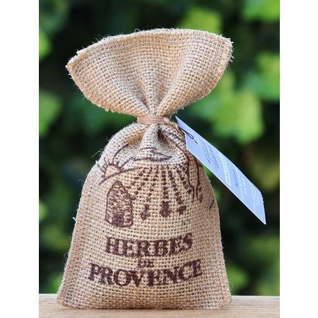 Herbes de Provence in jute zakjes