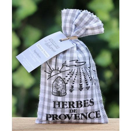 Herbes de Provence in ruiten zakje