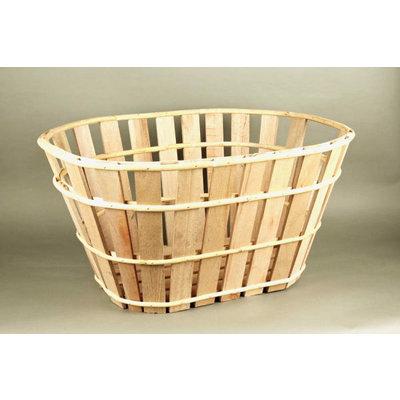Ovale houten mand