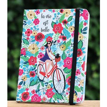 Cartes d'Art Paris Notitieboekje Belle vie