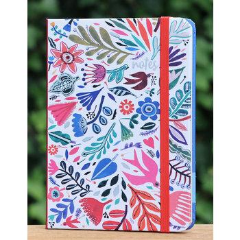 Cartes d'Art Paris Notitieboekje  bloemen