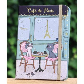 Cartes d'Art Paris Notitieboekje Café