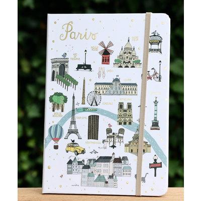 Notitieboekje Parijs groot