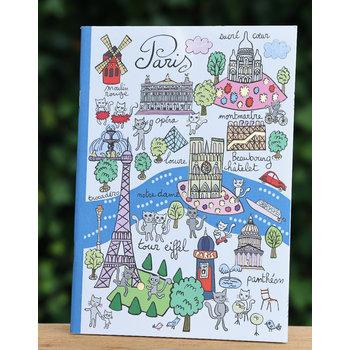 Cartes d'Art Paris Schrift monumenten