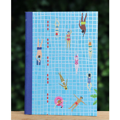 Schrift zwembad