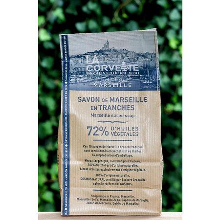 Kraftzak met 10 stukken biologische Marseillezepen