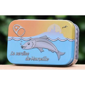 Lumière de Provence Blikje zeep vis