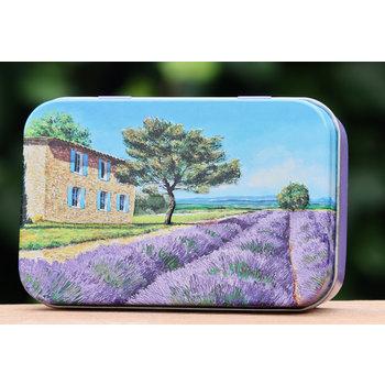 Lumière de Provence Blikje zeep Provence