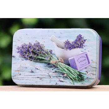 Lumière de Provence Blikje zeep bouquet