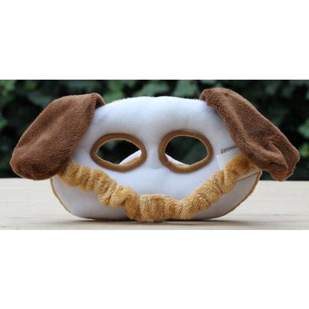 Pluche hondenmasker