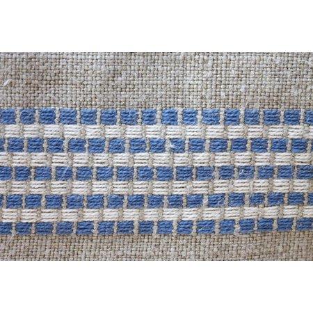 Servet St Malo blauw