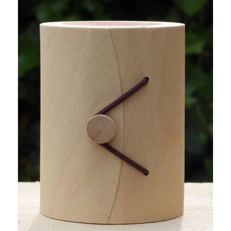 Geppersonaliserede kaars in houten box