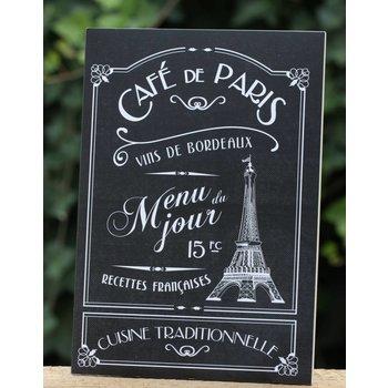 Editions A. Leconte Schrift Café