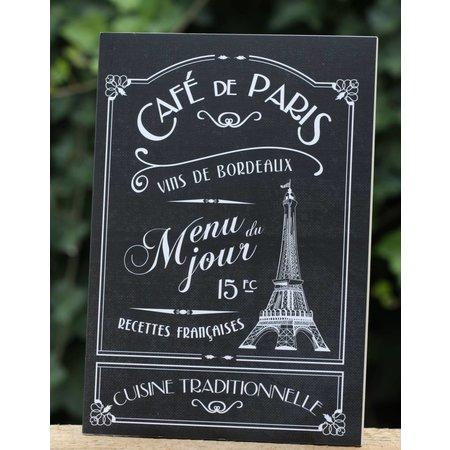 Schrift Café de Paris