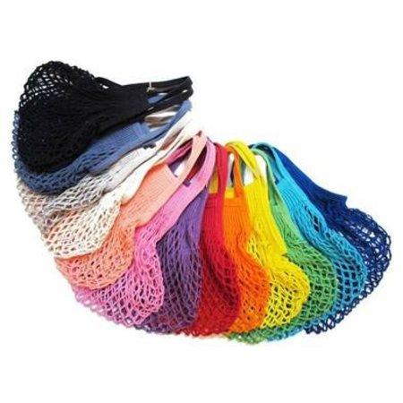 Boodschappennetje met hengsels tricolor