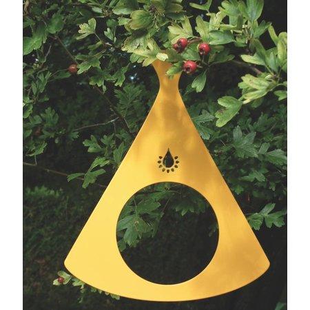 Voederhuisje geel