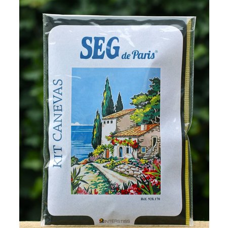 Borduurpakket Franse Rivièra