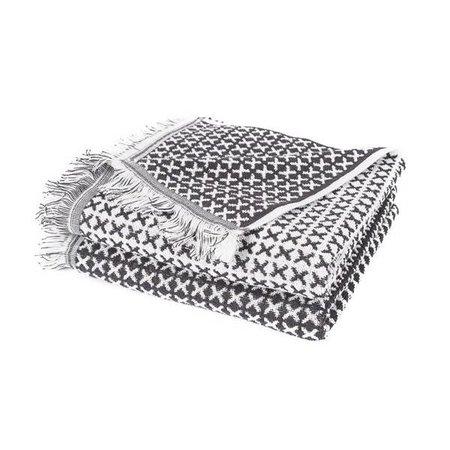 Gastenhanddoek Borneo grijs