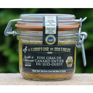 Foie gras en terrines