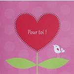 Franse wenskaarten en cadeaulabels