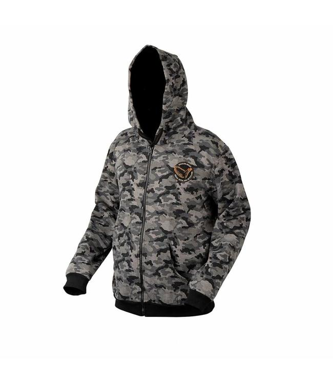 Savage Gear Black Savage Zip Hoodie