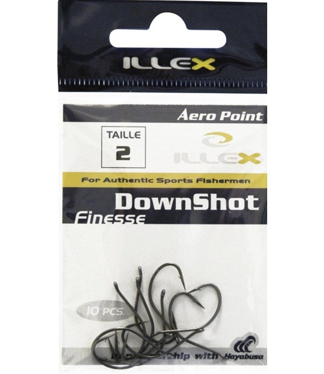 Illex Illex Finesse Down Shot Dropshot Haken